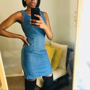 Vintage jean dress